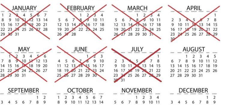 Vor 366 Tagen – Monatsabschluss Juli 2017