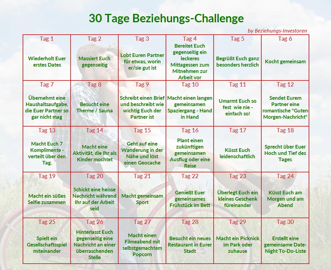 Beziehungs-Challenge