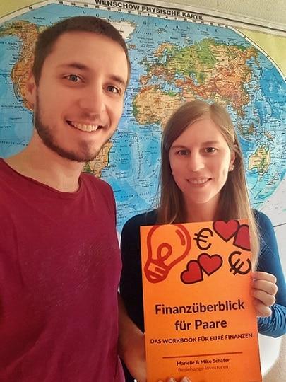 Finanzworkbook für die Beziehung