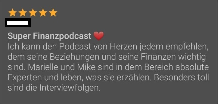 Podcast Feedback